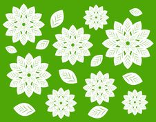 Free Floral Pattern Royalty Free Stock Photography - 14432577