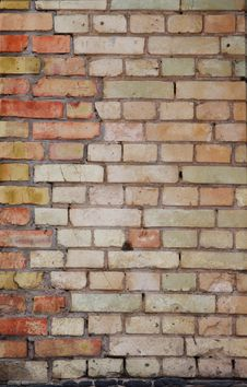 Free Big Wall Of  Brick Royalty Free Stock Photo - 14432695