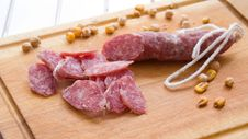Sausage. Royalty Free Stock Photography