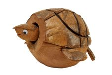 Free Wooden Turtle Royalty Free Stock Image - 14433506
