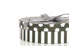 Free A Grey White Giftbox Royalty Free Stock Image - 14433666