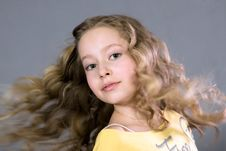 Free Portrait Of A Beautiful Teenager. Royalty Free Stock Photo - 14433775