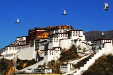 Free Potala Palace Royalty Free Stock Photography - 14434667
