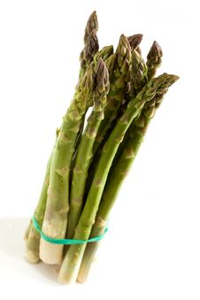 Free A Bunch Of Fresh ,green Asparagus ,close Up Stock Photo - 14435120