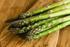Free A Bunch Of Fresh ,green Asparagus ,close Up Royalty Free Stock Photo - 14435175