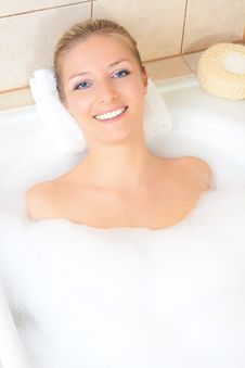 Free Woman In Bath Stock Photography - 14435332