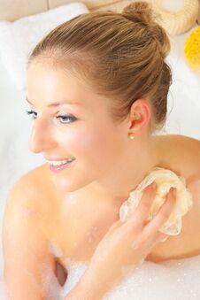 Free Woman In Bath Stock Image - 14435371