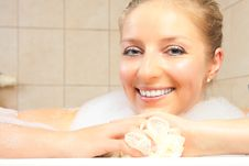 Free Woman In Bath Royalty Free Stock Photography - 14435377
