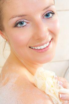 Free Woman In Bath Royalty Free Stock Photo - 14435395
