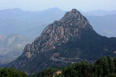 Free Peak Named FanCengJian Stock Photography - 14435512
