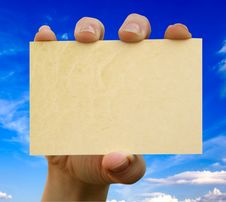 Free Card Blank Stock Images - 14436114