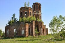 Free Abandoned Orthodox Church Stock Photos - 14436333