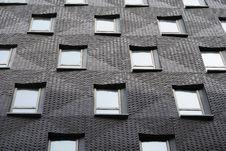 Free Modern Apartment Building Windows Stock Image - 14436341