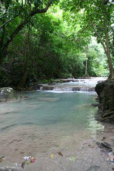 Free Erawan River Stock Image - 14436531