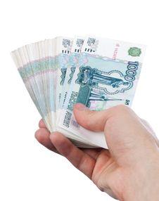 Free Hand With Money Stock Photo - 14437080