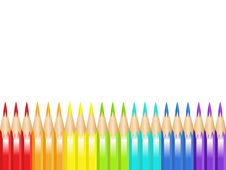 Free Color Pencils Royalty Free Stock Image - 14437396