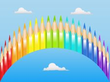 Free Color Pencils Stock Images - 14437404