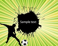Football  Background Royalty Free Stock Images