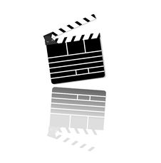 Free Vector Clapper Board. Stock Photography - 14438292