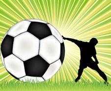 Football  Background Royalty Free Stock Photo