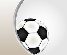 Football  Background Royalty Free Stock Image