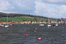 Free River Exe Estuary Royalty Free Stock Photo - 14438445
