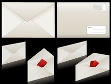 Free Envelope Royalty Free Stock Photos - 14438688