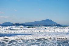 Ischia, Procida, Waves Stock Images
