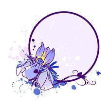 Free Iris Blank 2 Stock Image - 14438921