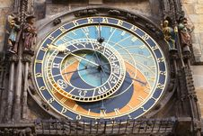 The Astronomical Clock Stock Photos