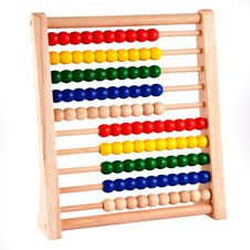 Free Abacus With Wooden Frame Stock Image - 14438961