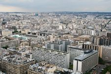 Free Panorama Of Paris. View From Eiffel Tower Stock Photo - 14439440