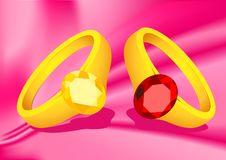 Free Couple Rings Stock Photo - 14439570