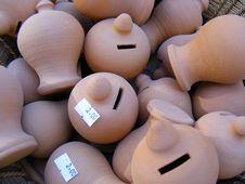 Vases Stock Photo