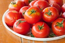 Free Tomatoes In Tray Royalty Free Stock Photography - 14439997