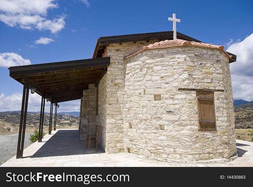 Orthodox chapel, Cyprus
