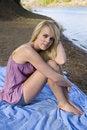 Free Purple Shirt Blanket Stock Photography - 14443722