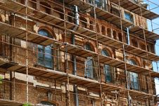 Free Scaffolds Round Stock Photography - 14440482
