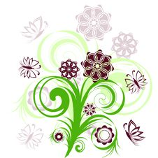 Free Floral Ornament Stock Photo - 14440500