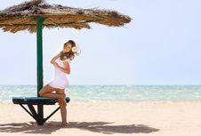 Free Beautiful Woman On Beach Royalty Free Stock Photo - 14440525