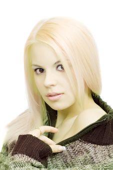 Free Woman In Sweater Stock Photos - 14442043