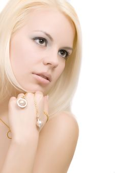 Free Blonde Woman Royalty Free Stock Image - 14442056