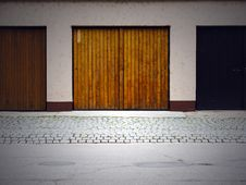 Free Garage Doors Stock Photo - 14442630
