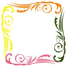 Free Photo Floral Frame Royalty Free Stock Photo - 14443045