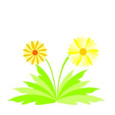 Free Illustration Spring Flowers Royalty Free Stock Photography - 14443117