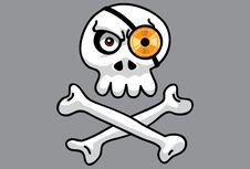 Free Disc Skull Pt.2 Stock Image - 14443941