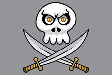 Free Disc Skull Pt.3 Royalty Free Stock Image - 14443946