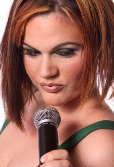 Free Sexy Singer Stock Photos - 14444273