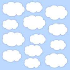 Free Clouds Royalty Free Stock Image - 14445936