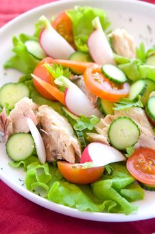 Free Vegetables Salad Stock Photography - 14446732
